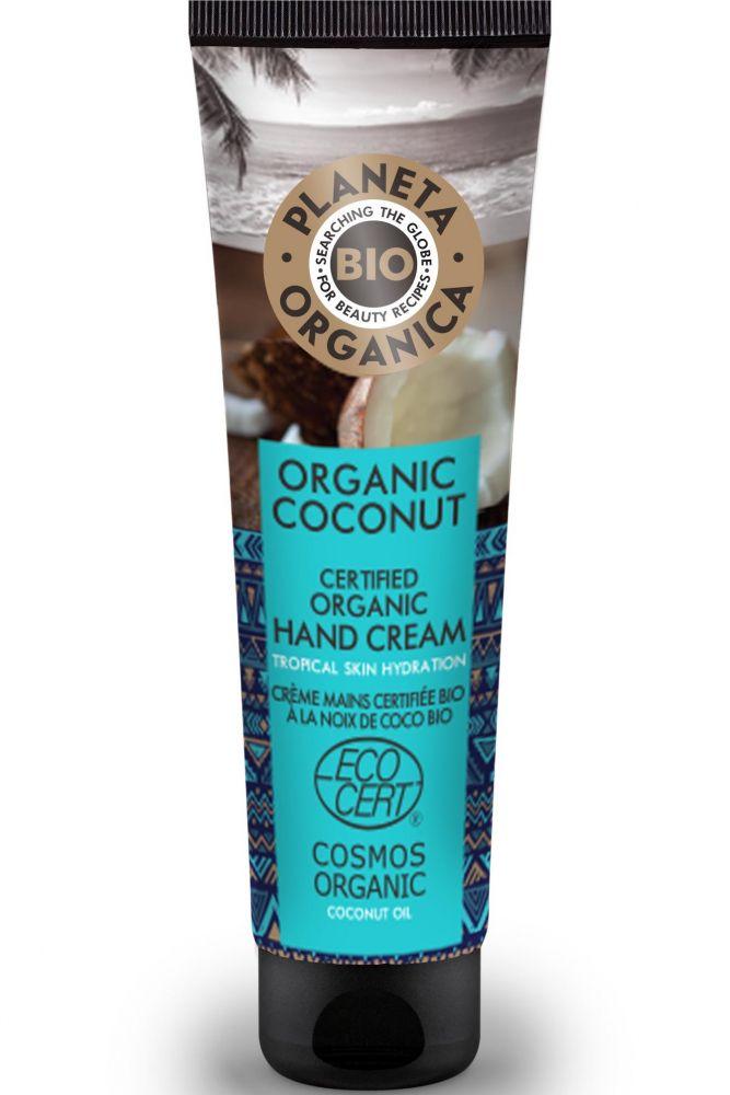 Prírodný krém na ruky s obsahom kokosového orecha 75 ml