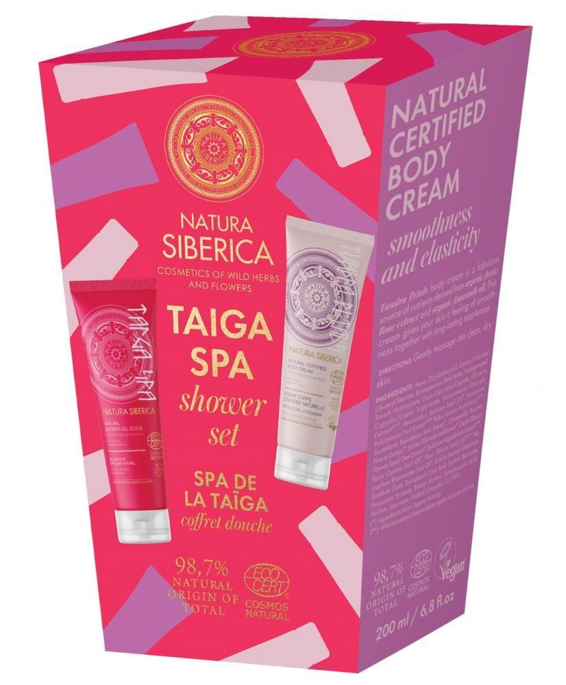 Sprchový darčekový set - Taiga SPA Natura Siberica 200 ml + 200 ml