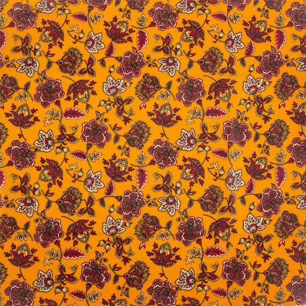 Voskový obrúsok motív Jesenná záhrada (35x35 cm)