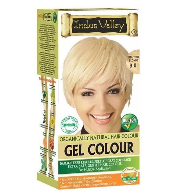 Gélová farba na vlasy Blond Indus Valley