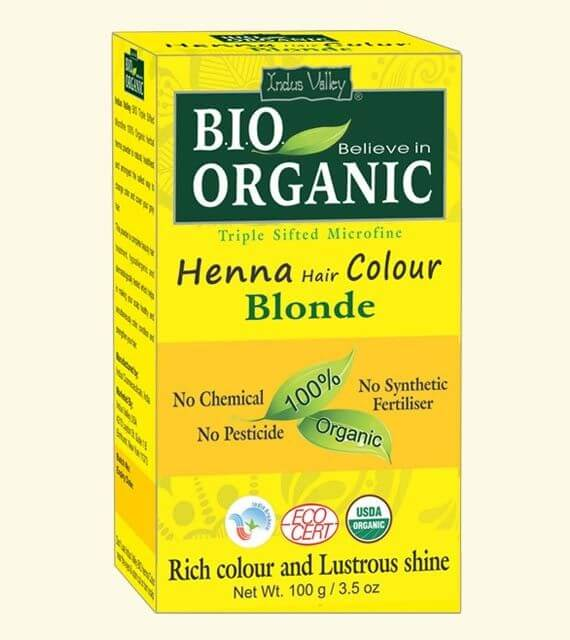 Henna farba na vlasy Blond Indus Valley