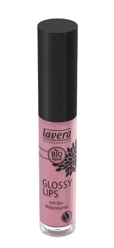 Prírodný lesk na pery vo farbe (odtieni) ružovofialová