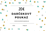 Darčeková poukážka v hodnote 20 EUR
