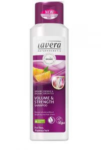 Lavera šampón Volume & strength 250 ml